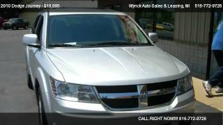 2010 Dodge Journey SXT - for sale in Zeeland, MI 49464