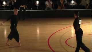 Giacomo Lazzarini - Roberta Benedetti | Samba | Gothenburg Elite Dance International 2012