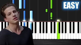 Charlie Puth - One Call Away - EASY Piano Tutorial by PlutaX