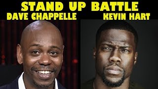 Stand Up Battle - Dave Chappelle vs Kevin Hart | Stand Up Comedy Moments