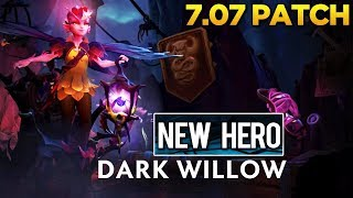 Dota 2 - 7.07 Dueling Fates Patch - Dark Willow (New Hero) Showcase