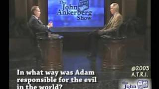 In what way was Adam responsible for the evil in the world?