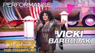 Vicki Barbolak: Hilarious Comedian Brings Trailer Nasty To AGT - America's Got Talent: The Champions