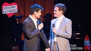 "Taylor Trensch & Telly Leung ""Who Will Love Me As I Am?"" – Broadway Backwards 2018"