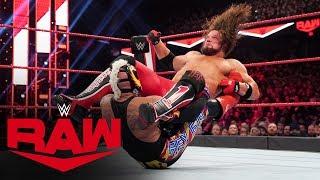 Rey Mysterio dethrones U.S. Champion AJ Styles: Raw, Nov. 25, 2019
