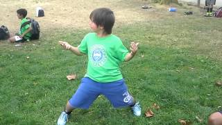 8 year old kid does sexy dance