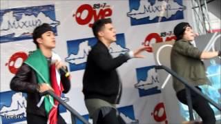 """CNCO - """"Quisiera"""" Showcase Mexico 2016"""