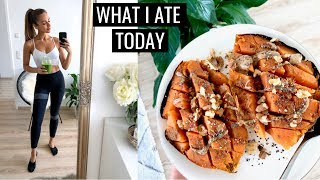 WHAT I ATE TODAY | Healthy Simple Food Ideas | Annie Jaffrey