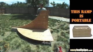 How to Build a Halfpipe Step 2 TRANSITIONS