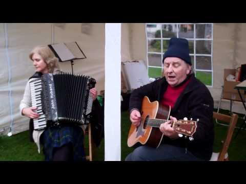 Ewen Sutherland St Andrews Day Celebrations Wellmeadow Blairgowrie Perthshire Scotland