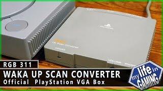 Waka Up Scan Converter - Official PlayStation VGA Box :: RGB311 / MY LIFE IN GAMING