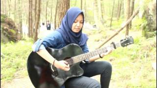 I hate u I love u - Chandelier (Gnash ft. Olivia O'brien - Sia) - Syahla Salsabila Cover