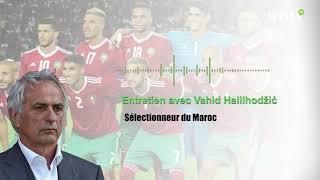 Vahid Halilhodzic : « Il n'y a pas de joueurs indispensables, l'équipe nationale prévaut sur tout !»