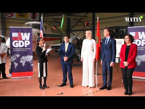 Video : Formation aéronautique : Ivanka Trump visite l'ISMALA