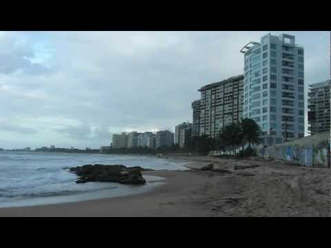 Condado beach sunset – San Juan, Puerto Rico (Tuesday evening, 01.03.2012)