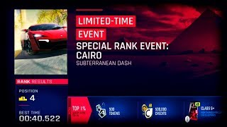 Asphalt 9 - SPECIAL RANK EVENT: CAIRO  _ TOP%1