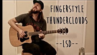 Thunderclouds (LSD) fingerstyle solo guitar.