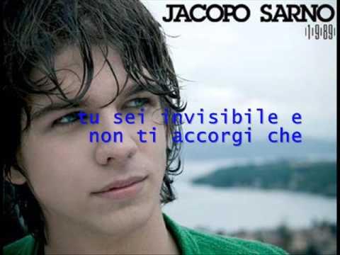 E Tardi de Jacopo Sarno Letra y Video