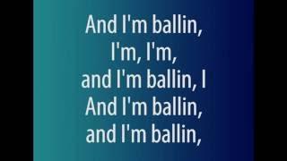 Kanye West Juicy J- Ballin (lyrics)