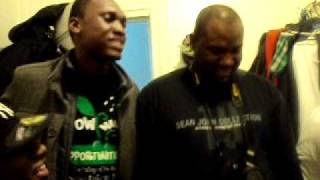 World Shock & BUN DEM crew, feat; Fyah G.