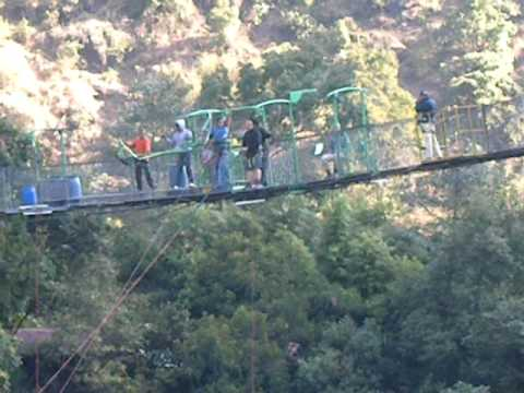 Last Resort , Nepal, 160 m , world' s highest swing