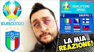 LA MIA REAZIONE AI SORTEGGI DI EURO 2020! ITALIA-BOSNIA-FINLANDIA-GRECIA