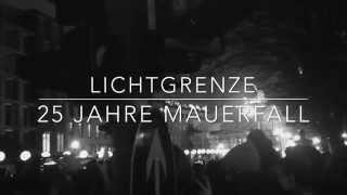 Berlin Lichtgrenze - 25 Jahre Mauerfall • Event Brandenburger Tor & Reichstag (9 Nov 2014)