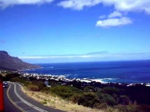 Touristic trip in Cape Town, South Africa
