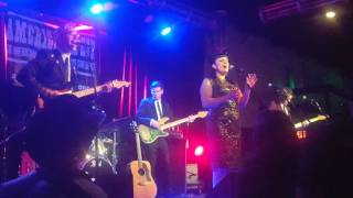 """Tami Neilson """"Cry Over You"""" Live at Americana Fest 2016"""
