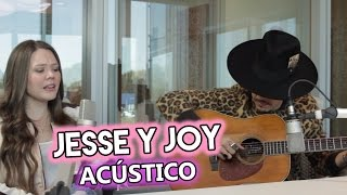 """Jesse & Joy - """"Un besito más"""" (acústico en Radio Disney)"""