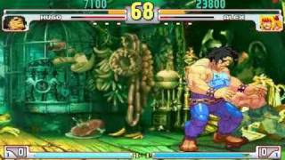 Street Fighter 3: Third Strike TA Fight - Hugo Vs. Alex