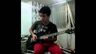 Dragonforce Through the Fire and Flames Guitar Solo Cover