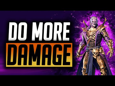 HOW TO DO MORE DAMAGE IN RAID IN 2021! | Raid: Shadow Legends