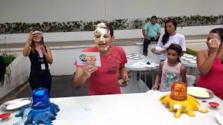Renata Abravanel Passa ou Repassa Festa Funcionários SBT 35 anos