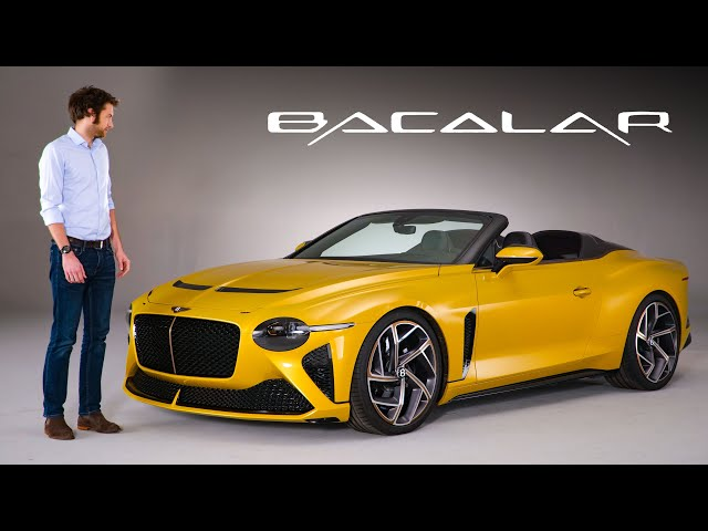 NEW Bentley Bacalar: In-Depth First Look At This £1.5M, ULTRA RARE Speedster   Carfection 4K