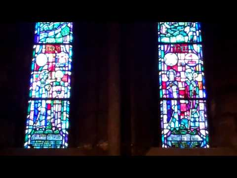 Ministers Memorial Window Cathedral Glasgow Scotland