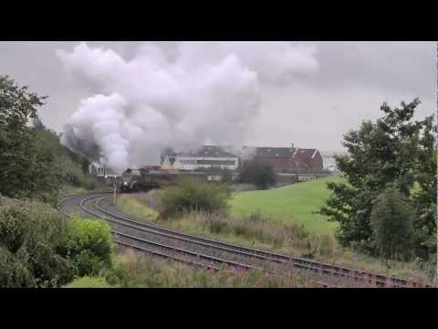 Cumbrian Mountain Express 60009 Union of South Africa  – 1st September 2012