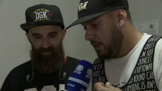 Entrevista a Mundo Segundo e Sam The Kid - NOS Alive 2016 - RTP