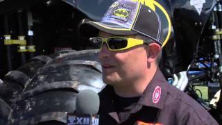Monster Jam - World Finals 2011 - Batman Monster Truck Driver  Norm Miller