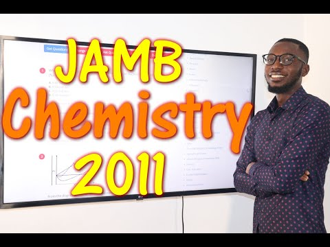 JAMB CBT Chemistry 2011 Past Questions 1 - 25