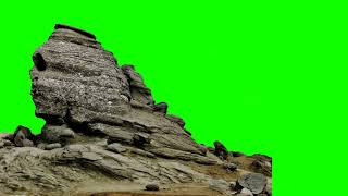 GREEN SCREEN FOOTAGE Rocks 2 100% FREE to USE   FREE STOCK FOOTAGE