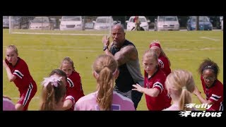 Fate of the Furious 8 (2017)   Rock Teach soccer Game Scene Hd