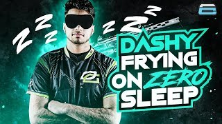 DASHY FRYING GEN.G ON ZERO SLEEP!! TRAVEL DAY TO OPTIC PRE LAN! (COD: BO4)