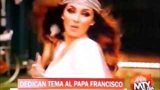 Anahi y Julion Alvarez Graban Cancion Para El Papa (Monterrey Al Dia)