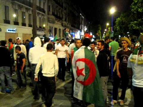 France 32 – World Cup celebration – Algerians on the Champs-Elysees