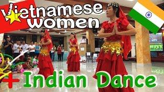 Arash feat. Rebecca - Temptation [Vietnamese Women + Indian Dance]