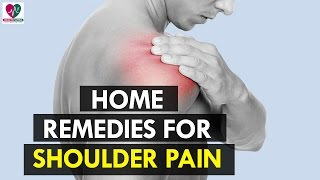 Home Remedies for Shoulder Pain - Health Sutra