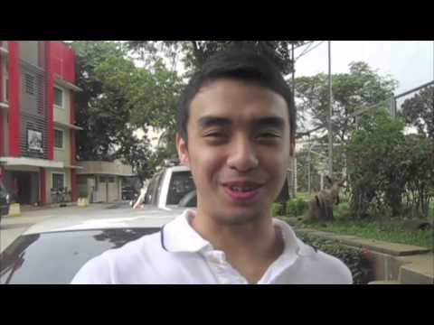 College Heartthrobs: Anjo Caram's pickup line! (MB Sports Digest October issue)