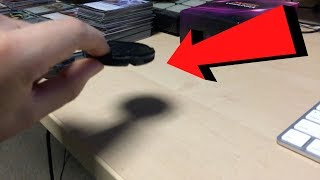 Experiment that shows a shadow smaller than the object: Flat Earth and the Solar Eclipse