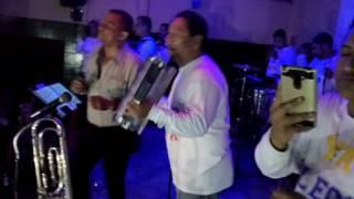 El Chiche Morales triunfando con la tropa colombiana. Monterrey NL